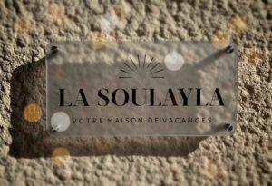 Enseigne de La Soulayla