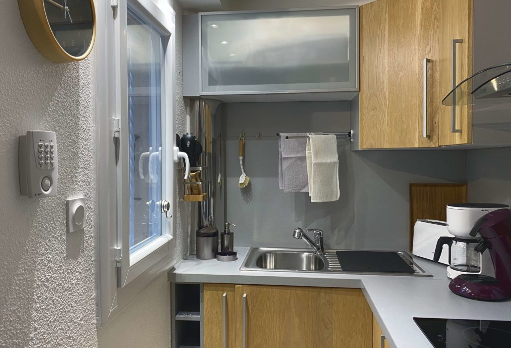 Kitchenette vue fenêtre