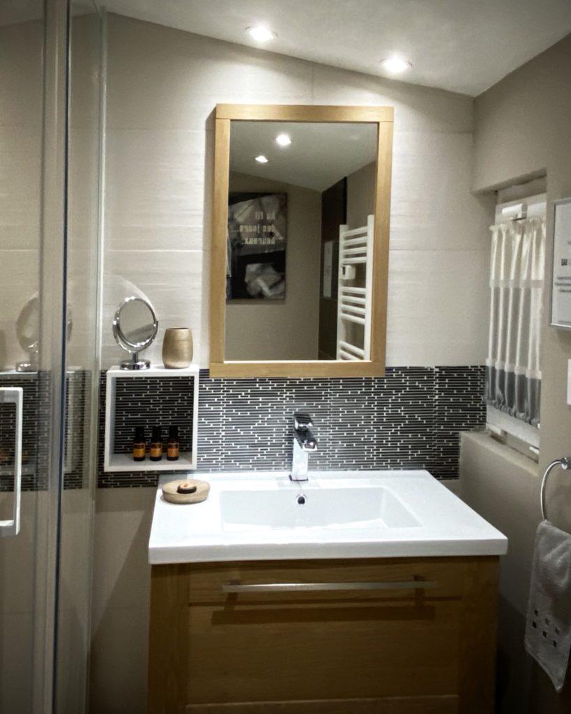 Salle de bain du parterre de La Soulayla