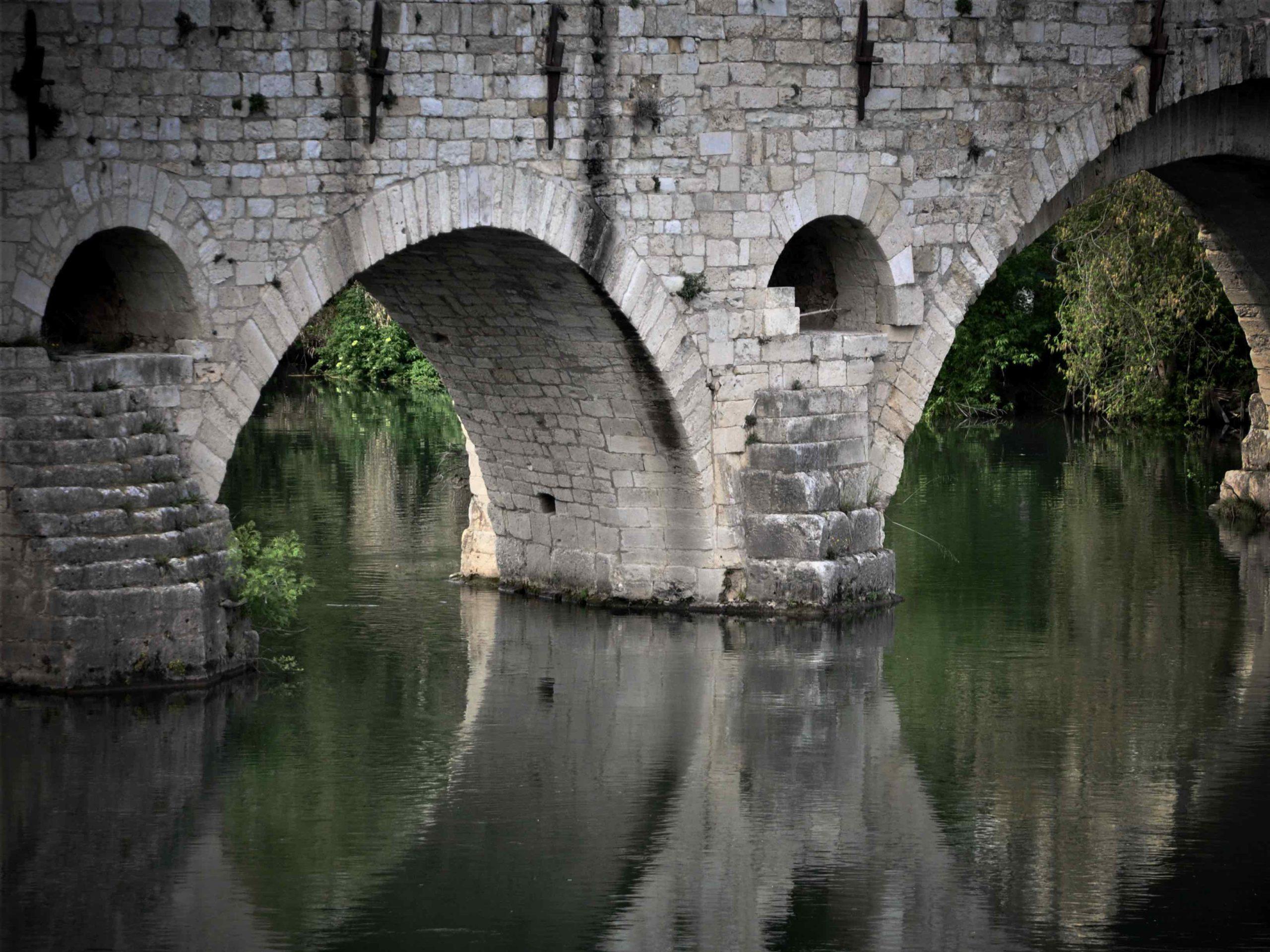 Pont romain sur l herault