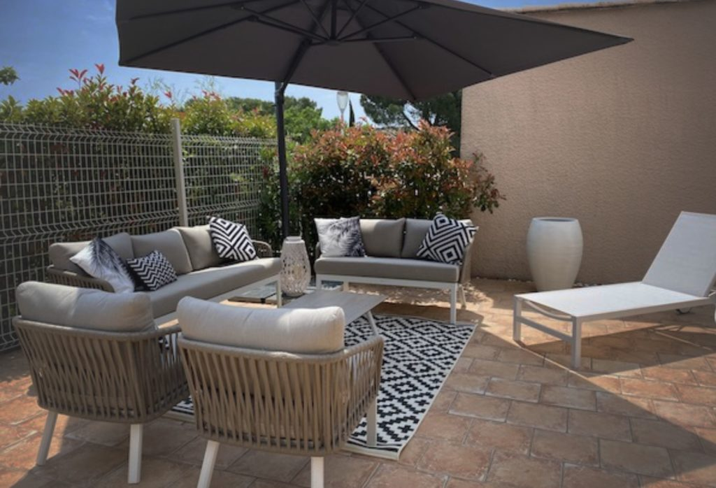 Salon de jardin La Soulayla