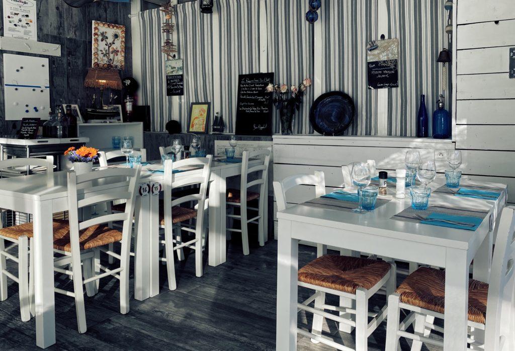 La Cabane du Mail salle restaurant