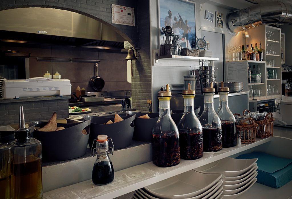 La Cabane du Mail huile olive et cuisine
