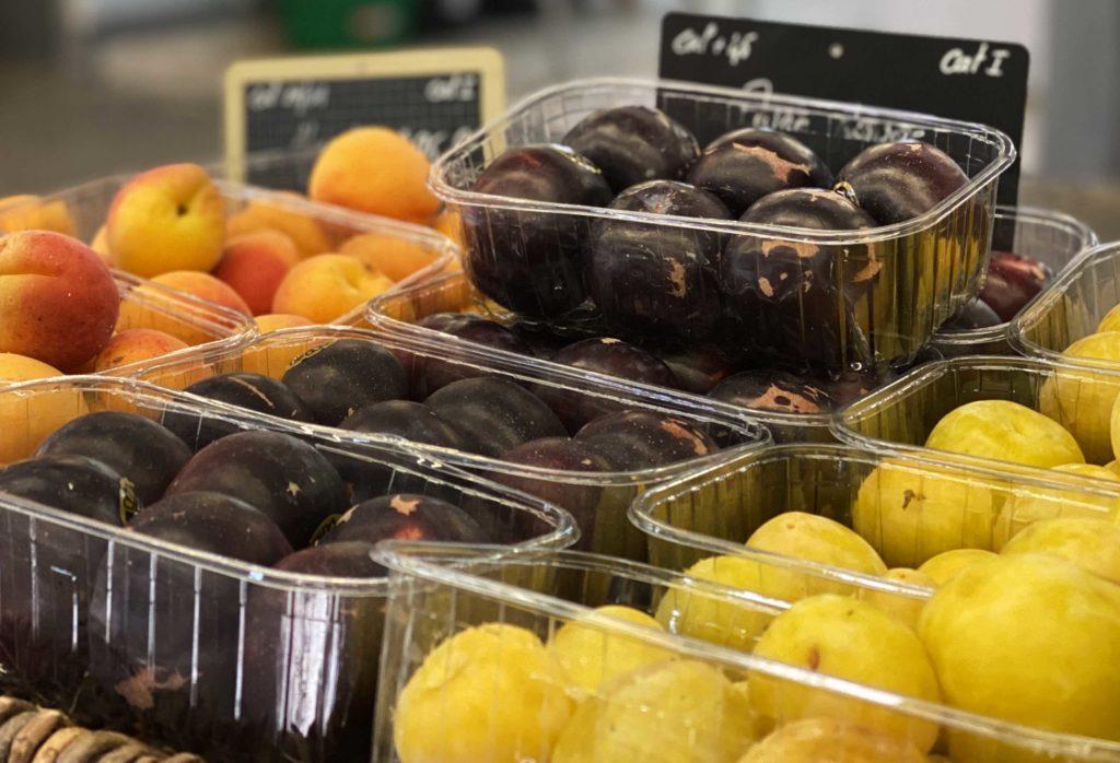 Etal de fruit