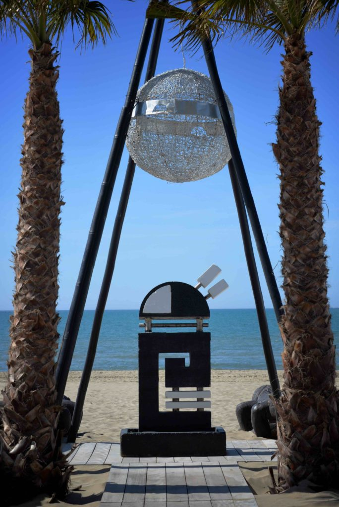 Totem du Jungle Beach Richelieu