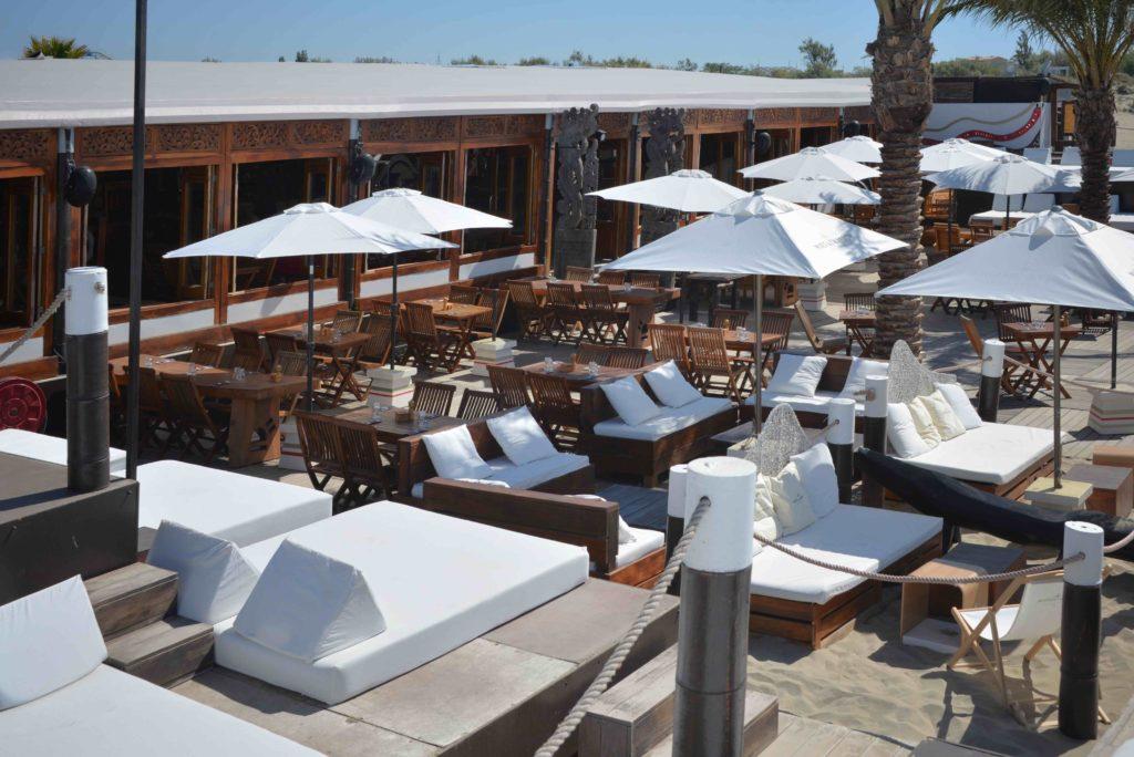 Terrasse du Jungle Beach Richelieu