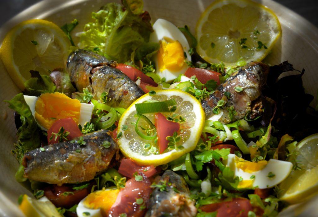 La Soulayla salade Sardine au citron