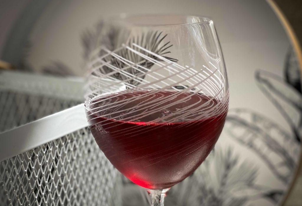 La Soulayla verre de rouge