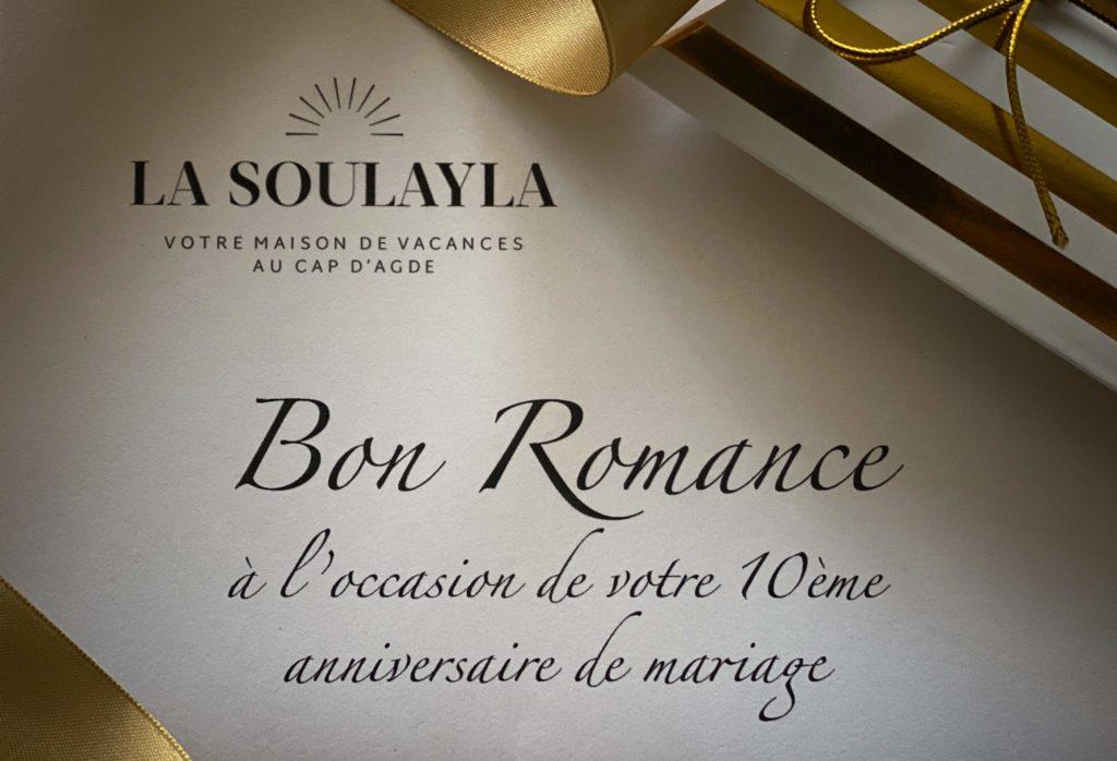 Bon ROMANCE La Soulayla
