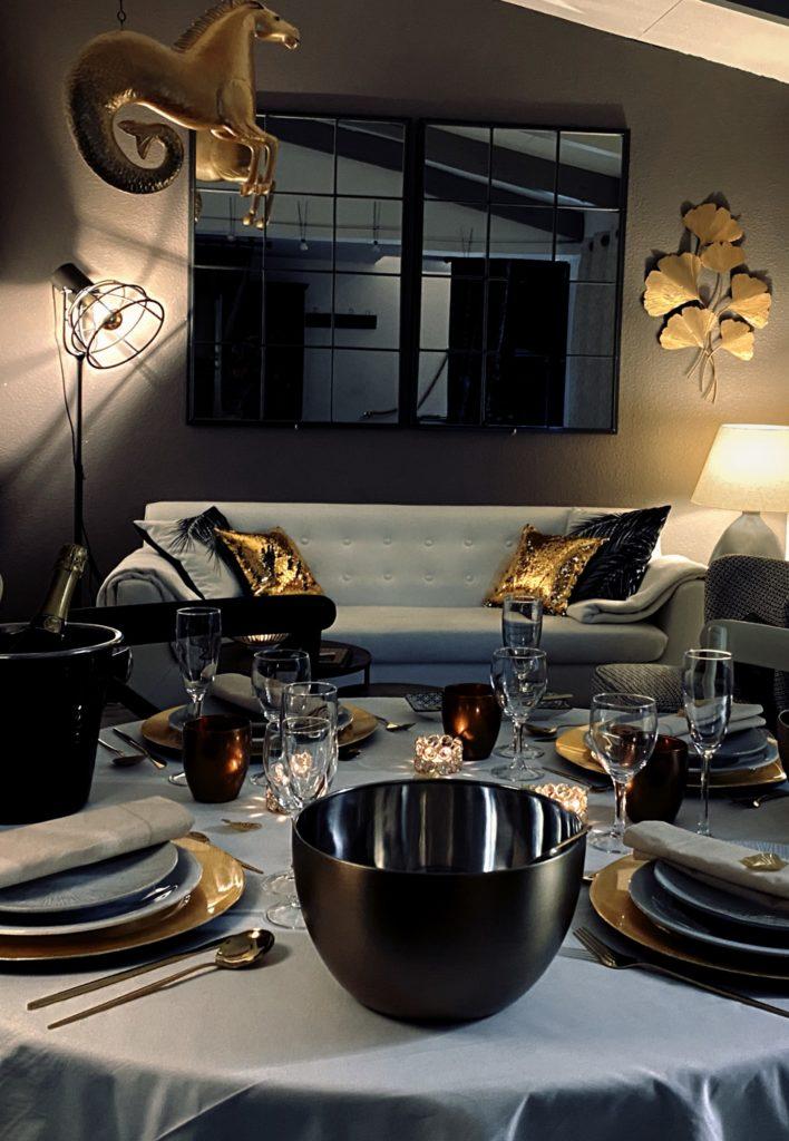 Table d'apparat de La Soulayla