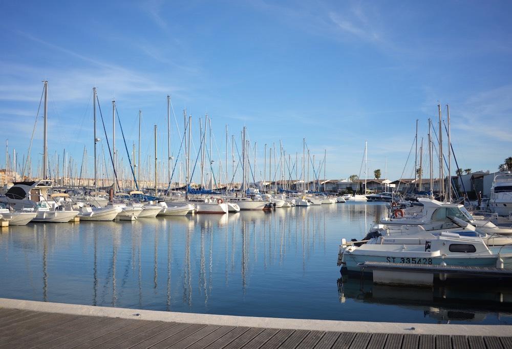Bateaux dans le port du Cap d'Agde