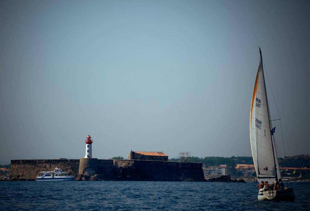 Fort de Brescou depuis la mer