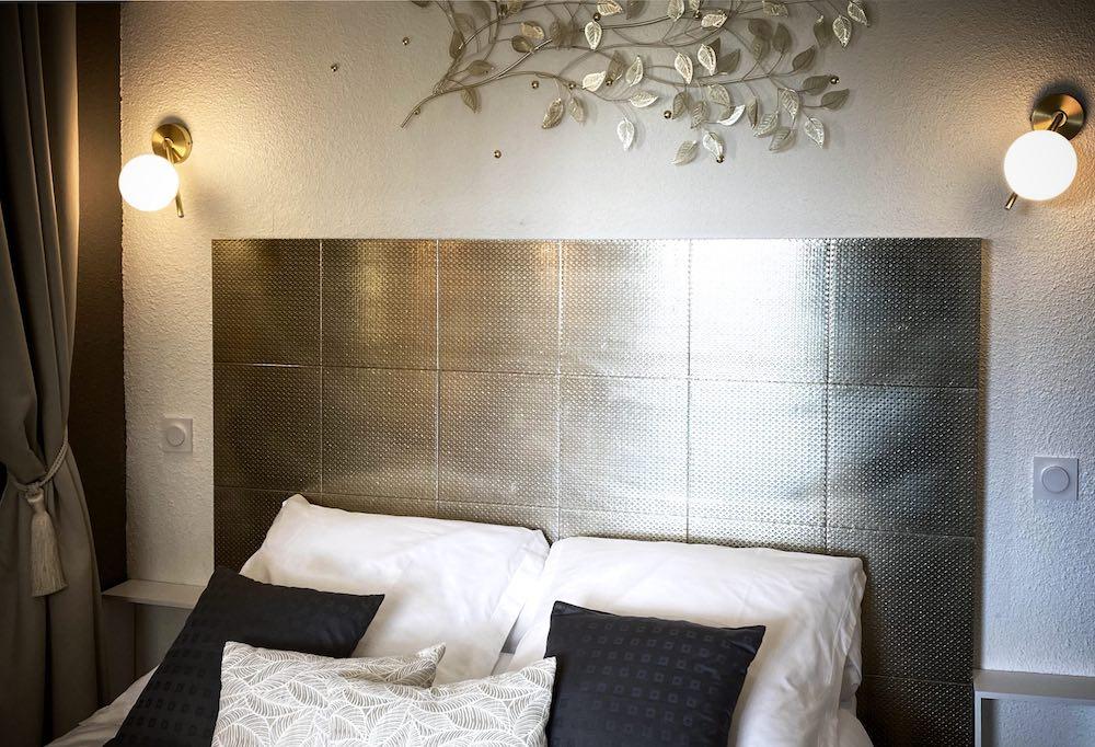Chambre 1 vue tête de lit