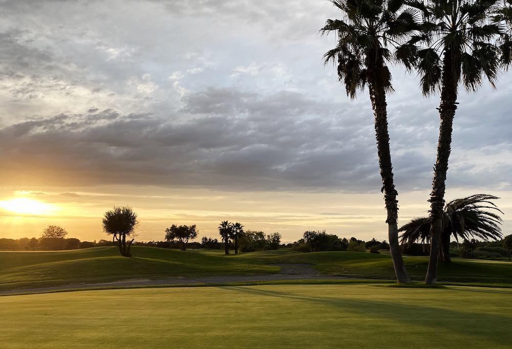 La Soulayla Coucher de soleil sur le golf