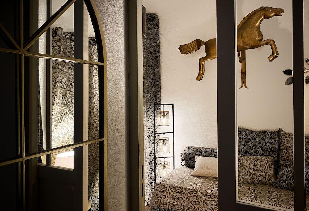 La Soulayla chambre 3 vue du couloir