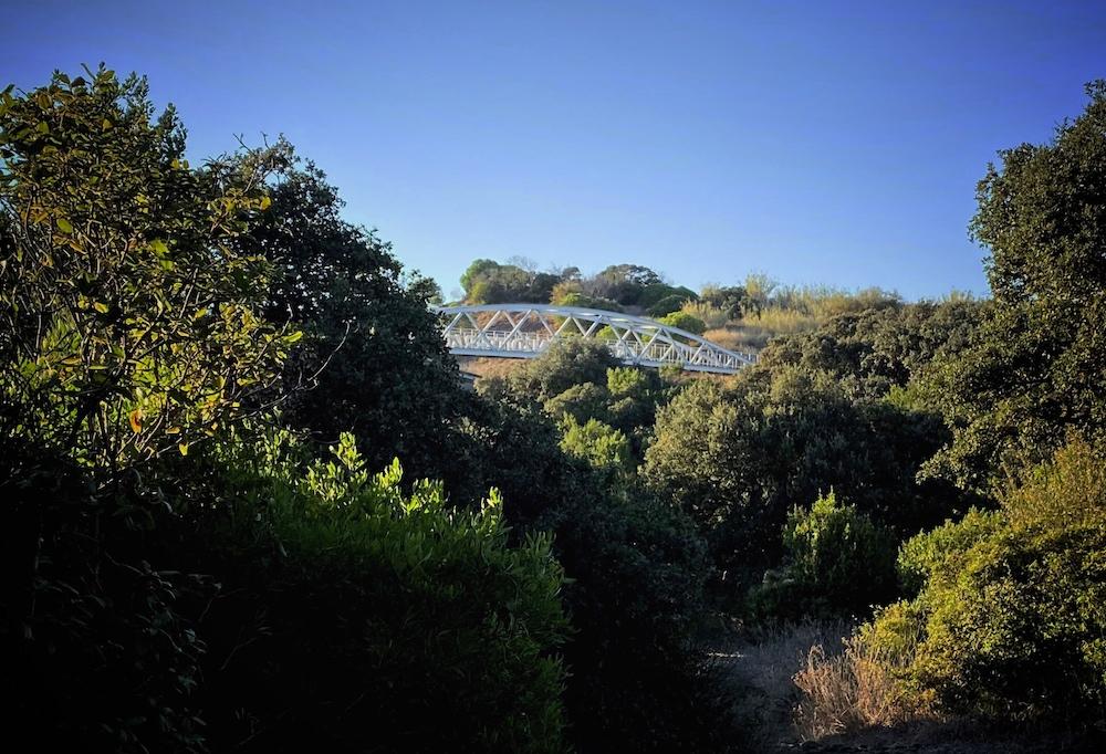 La Soulayla environnement passerelle du golf
