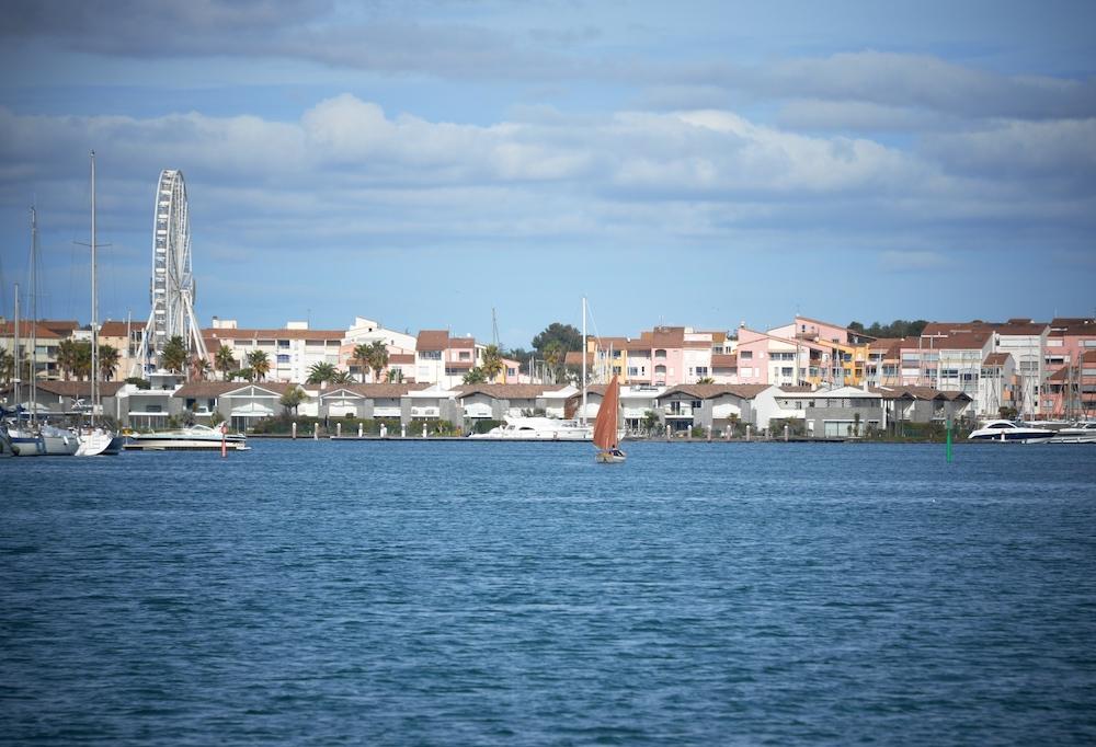 La Soulayla le Cap d'Agde depuis la mer