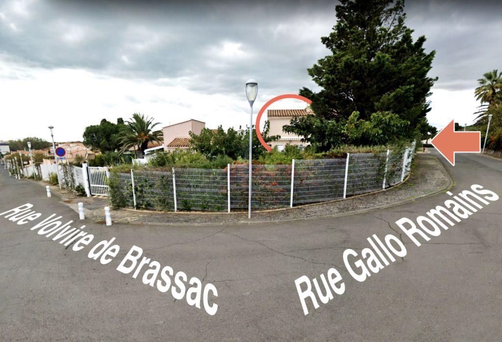 Angle rues Volvire de Brassac et Gallo Romains