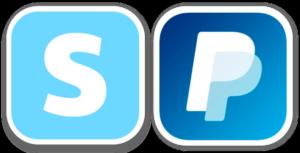 Icones Stripe et PayPal pour La Soulayla