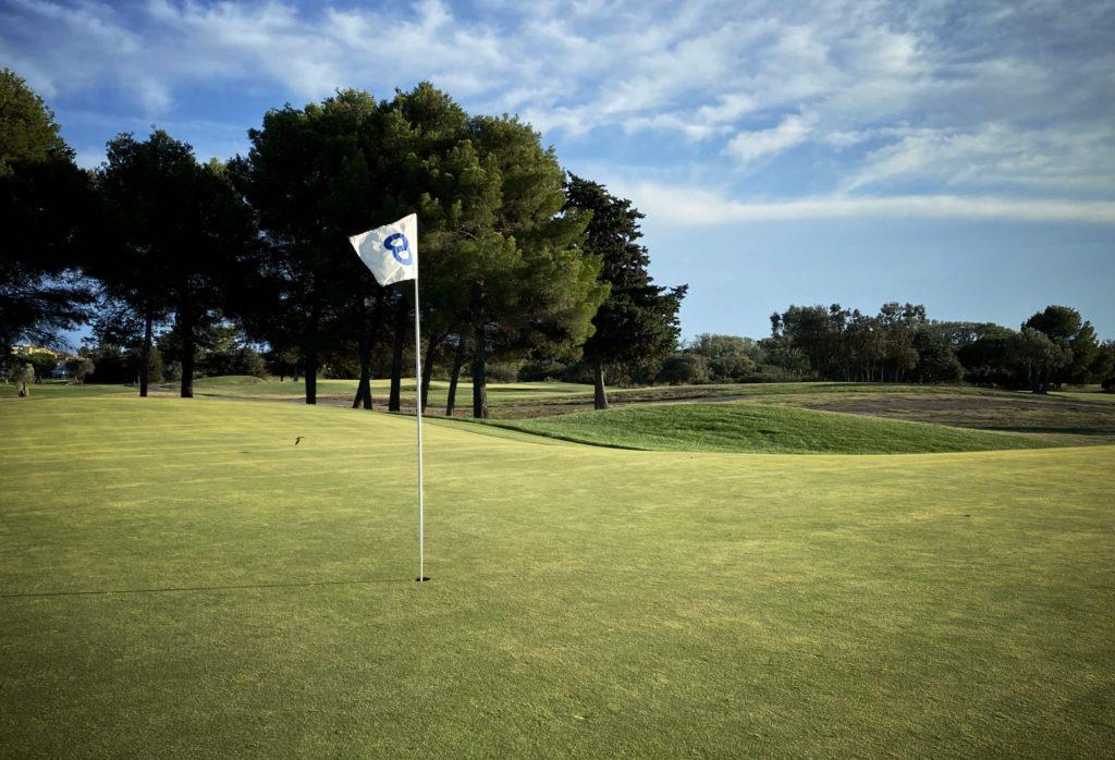 La Soulayla offre golf Cap d'Agde Azur trou 8